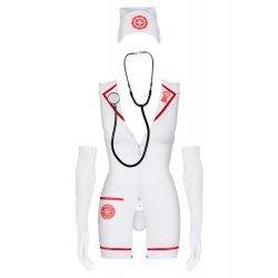 Disfraz de Enfermera de Urgencias Con Estetoscopio