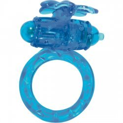 Anillo Pene con Vibración Azul
