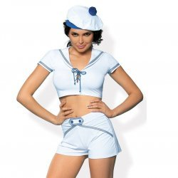 White sailor costume
