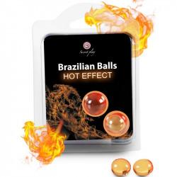 Secret Play Brazilian Balls Efecto Calor