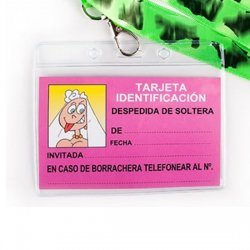 Single identification card