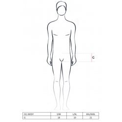 Body 011 Jockstrap Black Men