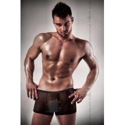 025 black Boxer transparent man