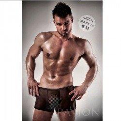 Boxer Negro 025 Transparente Hombre