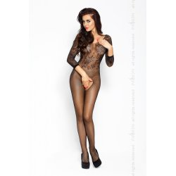 Red Eroticline BS007 Catsuit Negro