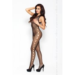 Red BS003 Eroticline Catsuit Negro