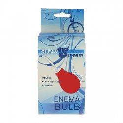 Enema Bulb Rojo