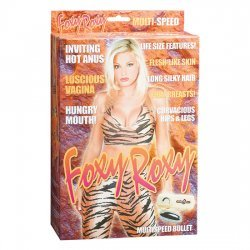 Foxy Roxy poupée de Blow-Up avec vibration