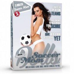 Soccer Mom Muñeca Hinchable 3 Orificios