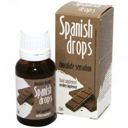 Spanish Fly descend du sentiment de l'amour du chocolat