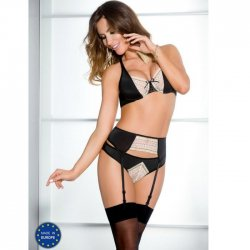 Set Connie black 3 piece