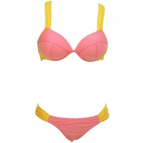 Queen Summer Bikini Rosa Sport Suave