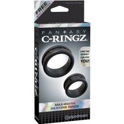 Max silicone for the black penis rings