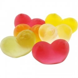 Chewing candies shaped breasts