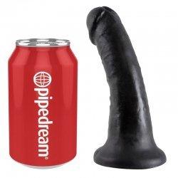 King Cock Pene Realístico 15 cm Negro