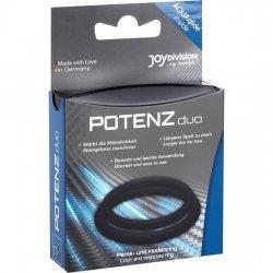 Rings penis medium Potenz Duo black