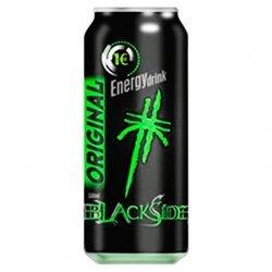 Boisson d'énergie côté noir 500 ml