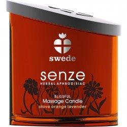 Bonheur de bougie pour le massage Senze