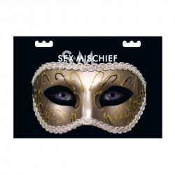 Masquerade Máscara Fantasía Grey