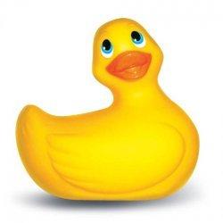 Pato Vibrador Amarillo Sumergible Bañera