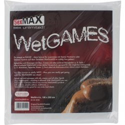 Sexmax white sheet plastic
