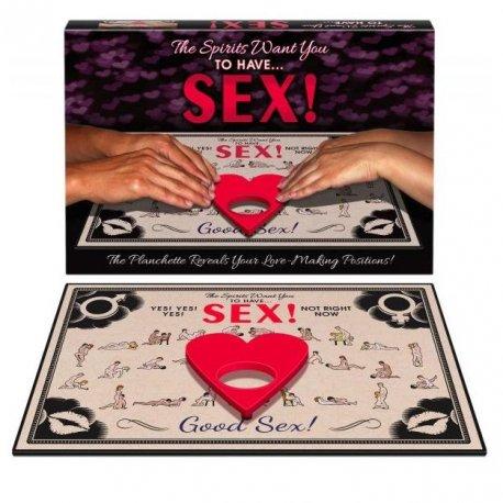 Juego Los Espíritus Quieren Tener Sexo Conmigo