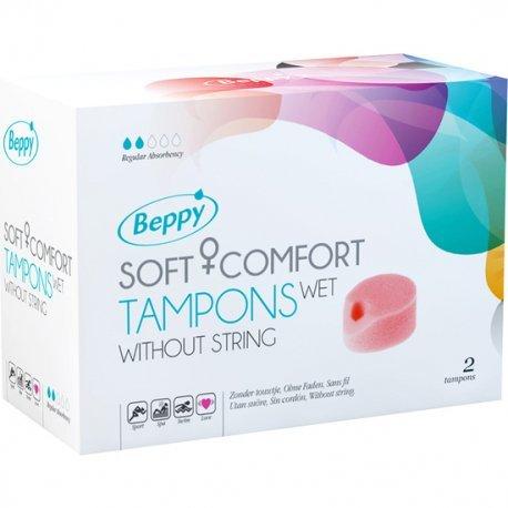 Beppy Tampones Sin Cordón Lubricados 2 Uds