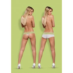 Pack Tanga + Shorties Lacea Verde y Blanco