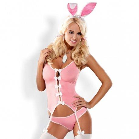 Disfraz Conejita Bunny Suit Rosa