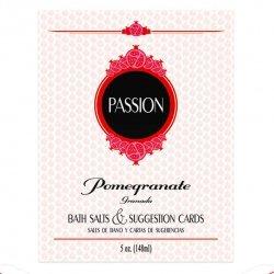 Passion Sales de Baño y Cartas de Sugerencias