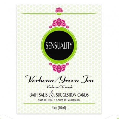 Sensuality Sales de Baño y Cartas de Sugerencias