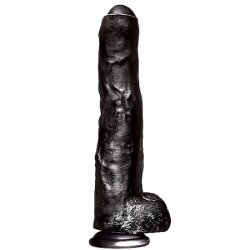 Dildo giant Unkut penis which is a 35 cm