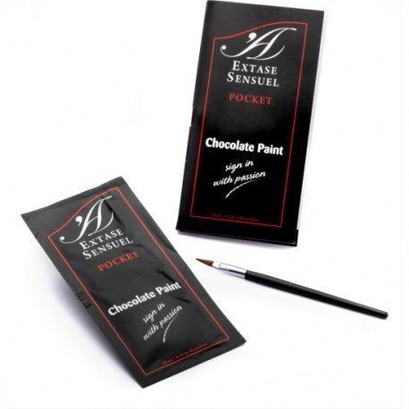 Pintura Corporal de Chocolate Monodosis