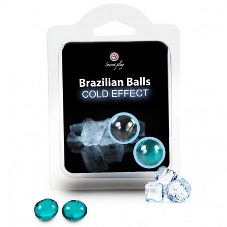 Set 2 Brazilian Ball Efecto Frío