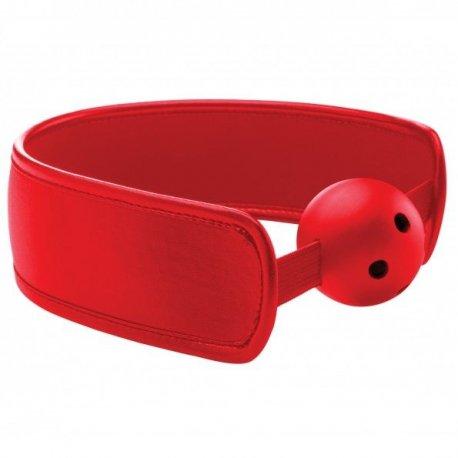 Ouch Brace Mordaza Transpirable Rojo