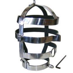 Metalhard Máscara con Collar Acero