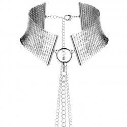 Désir Métallique Collar Metálico Plateado