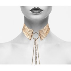 Desir Metalique golden metal Collar