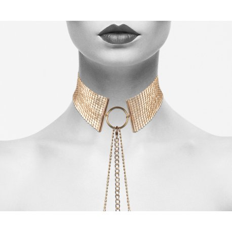 Désir Métalique Collar Metálico Dorado