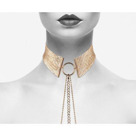 Desir Metalique golden metal Collar