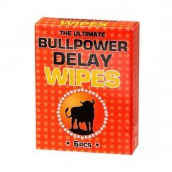 Bull Power Sobres de Toallitas Retardantes 6 Uds