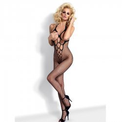 Black mesh Bodystocking N106