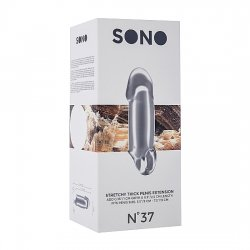 Sono N37 Extensor para el Pene Elástico Plata