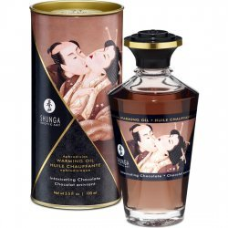 Shunga Aceite Efecto Calor Chocolate 100 ml