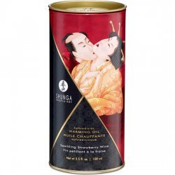 Shunga Aceite Efecto Calor Vino 100 ml