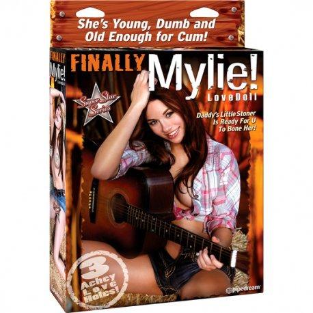 Finally Mylie Muñeca Cantante 3 Orificios
