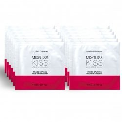 Mixgliss Lubricante Base Agua sabor a Fresa 12 Monodosis 4 ml