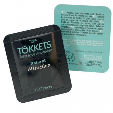 Toka Natural Gel de Atracción 8 Monodosis 8 ml