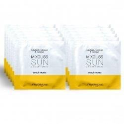 Lubrifiant à Base de silicone parfum Monoï 12 4 ml unidose