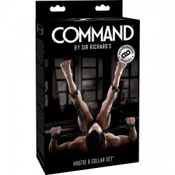 Sr. Command Set de Ataduras Bondage con Collar